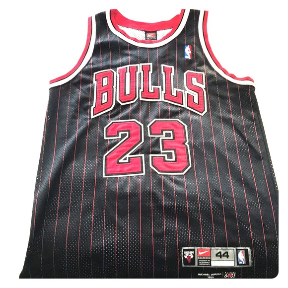 huge selection of 72c91 f630d Nike Chicago bulls Black Michael Jordan Jersey